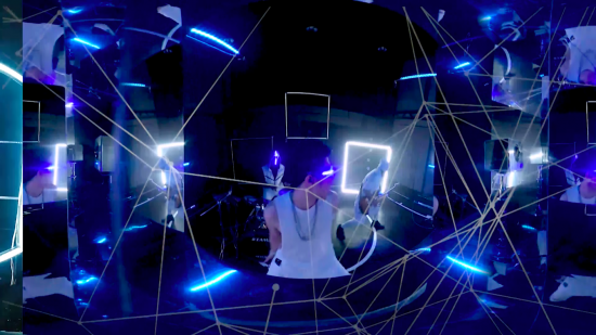 VR360度動画に一石を投じる …Non-VR 360度 MV