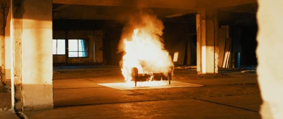 """年賀ムービー2019『REBORN』を振り返る。不安と葛藤がドキドキに変化した""""炎""""の撮影"""