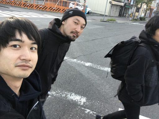 京都での撮影へ、bacterが大好きな3人で